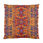 Oriental Watercolor Ornaments Kaleidoscope Mosaic Standard Cushion Case (One Side) Front
