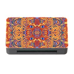 Oriental Watercolor Ornaments Kaleidoscope Mosaic Memory Card Reader With Cf by EDDArt