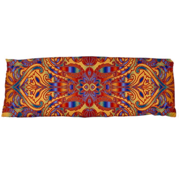 Oriental Watercolor Ornaments Kaleidoscope Mosaic Body Pillow Case (Dakimakura)