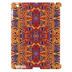 Oriental Watercolor Ornaments Kaleidoscope Mosaic Apple iPad 3/4 Hardshell Case (Compatible with Smart Cover)