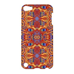 Oriental Watercolor Ornaments Kaleidoscope Mosaic Apple Ipod Touch 5 Hardshell Case by EDDArt