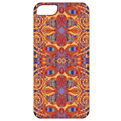 Oriental Watercolor Ornaments Kaleidoscope Mosaic Apple Iphone 5 Classic Hardshell Case by EDDArt
