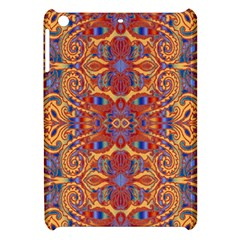 Oriental Watercolor Ornaments Kaleidoscope Mosaic Apple Ipad Mini Hardshell Case by EDDArt