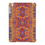Oriental Watercolor Ornaments Kaleidoscope Mosaic Apple iPad Mini Hardshell Case (Compatible with Smart Cover)