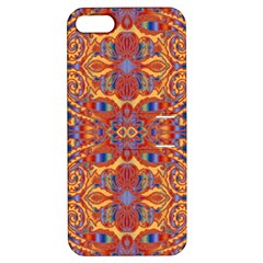 Oriental Watercolor Ornaments Kaleidoscope Mosaic Apple Iphone 5 Hardshell Case With Stand by EDDArt