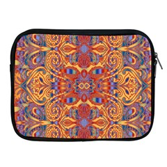 Oriental Watercolor Ornaments Kaleidoscope Mosaic Apple Ipad 2/3/4 Zipper Cases by EDDArt