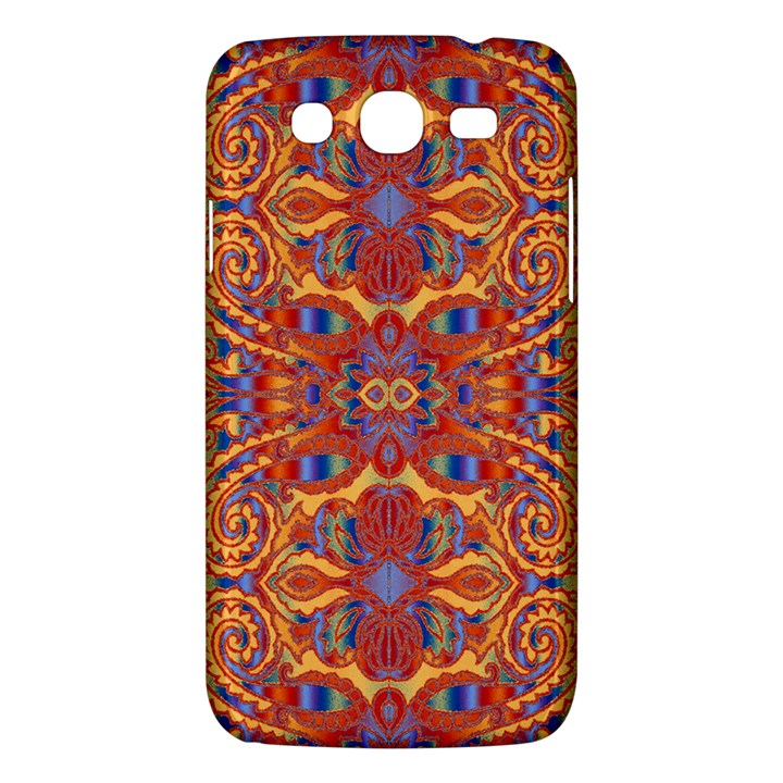 Oriental Watercolor Ornaments Kaleidoscope Mosaic Samsung Galaxy Mega 5.8 I9152 Hardshell Case