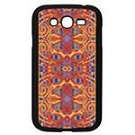 Oriental Watercolor Ornaments Kaleidoscope Mosaic Samsung Galaxy Grand DUOS I9082 Case (Black)