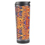Oriental Watercolor Ornaments Kaleidoscope Mosaic Travel Tumbler Left