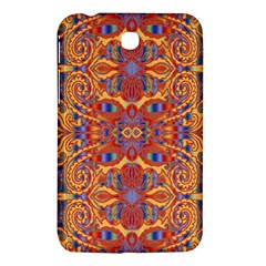 Oriental Watercolor Ornaments Kaleidoscope Mosaic Samsung Galaxy Tab 3 (7 ) P3200 Hardshell Case  by EDDArt