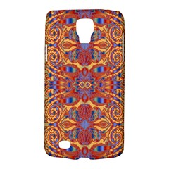 Oriental Watercolor Ornaments Kaleidoscope Mosaic Galaxy S4 Active