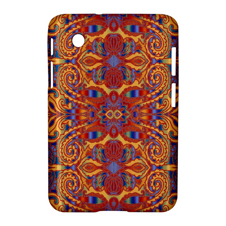 Oriental Watercolor Ornaments Kaleidoscope Mosaic Samsung Galaxy Tab 2 (7 ) P3100 Hardshell Case