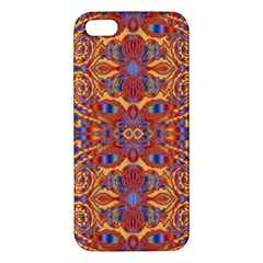 Oriental Watercolor Ornaments Kaleidoscope Mosaic Iphone 5s/ Se Premium Hardshell Case by EDDArt