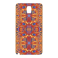 Oriental Watercolor Ornaments Kaleidoscope Mosaic Samsung Galaxy Note 3 N9005 Hardshell Back Case by EDDArt