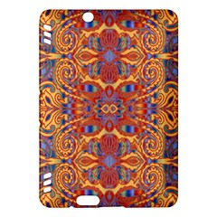 Oriental Watercolor Ornaments Kaleidoscope Mosaic Kindle Fire Hdx Hardshell Case by EDDArt