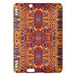 Oriental Watercolor Ornaments Kaleidoscope Mosaic Kindle Fire HDX Hardshell Case