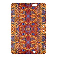 Oriental Watercolor Ornaments Kaleidoscope Mosaic Kindle Fire Hdx 8 9  Hardshell Case by EDDArt