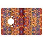 Oriental Watercolor Ornaments Kaleidoscope Mosaic Kindle Fire HDX Flip 360 Case