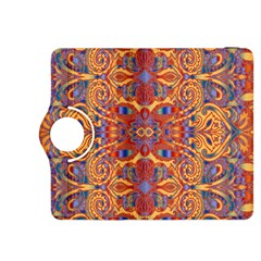 Oriental Watercolor Ornaments Kaleidoscope Mosaic Kindle Fire Hdx 8 9  Flip 360 Case by EDDArt