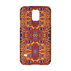Oriental Watercolor Ornaments Kaleidoscope Mosaic Samsung Galaxy S5 Hardshell Case  by EDDArt