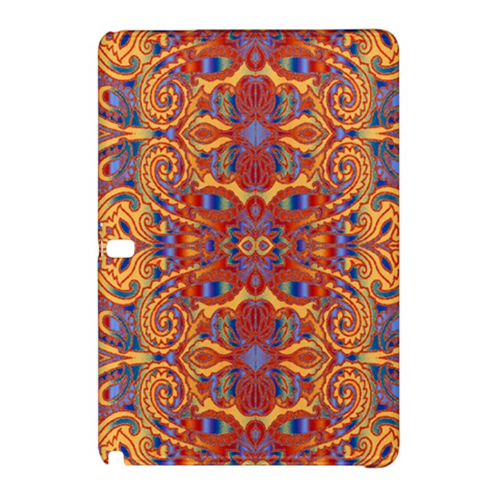 Oriental Watercolor Ornaments Kaleidoscope Mosaic Samsung Galaxy Tab Pro 10.1 Hardshell Case