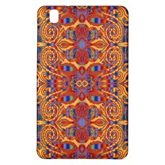 Oriental Watercolor Ornaments Kaleidoscope Mosaic Samsung Galaxy Tab Pro 8 4 Hardshell Case
