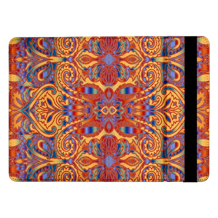 Oriental Watercolor Ornaments Kaleidoscope Mosaic Samsung Galaxy Tab Pro 12.2  Flip Case