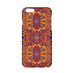 Oriental Watercolor Ornaments Kaleidoscope Mosaic Apple Iphone 6/6s Hardshell Case by EDDArt