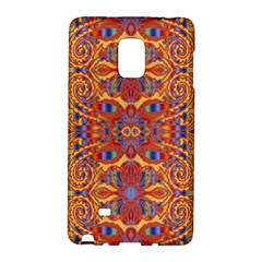 Oriental Watercolor Ornaments Kaleidoscope Mosaic Galaxy Note Edge by EDDArt