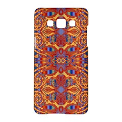 Oriental Watercolor Ornaments Kaleidoscope Mosaic Samsung Galaxy A5 Hardshell Case