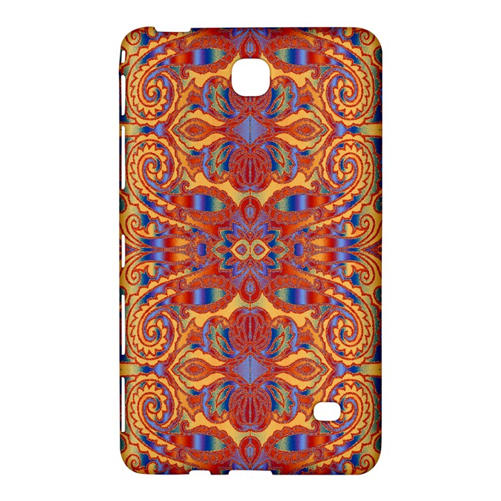 Oriental Watercolor Ornaments Kaleidoscope Mosaic Samsung Galaxy Tab 4 (7 ) Hardshell Case