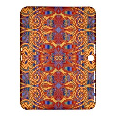 Oriental Watercolor Ornaments Kaleidoscope Mosaic Samsung Galaxy Tab 4 (10 1 ) Hardshell Case