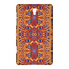 Oriental Watercolor Ornaments Kaleidoscope Mosaic Samsung Galaxy Tab S (8 4 ) Hardshell Case  by EDDArt