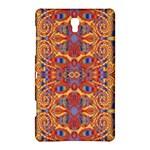 Oriental Watercolor Ornaments Kaleidoscope Mosaic Samsung Galaxy Tab S (8.4 ) Hardshell Case