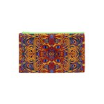 Oriental Watercolor Ornaments Kaleidoscope Mosaic Cosmetic Bag (XS) Front