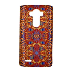 Oriental Watercolor Ornaments Kaleidoscope Mosaic Lg G4 Hardshell Case by EDDArt