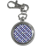 Snowflakes Pattern Key Chain Watches Front