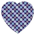 Snowflakes Pattern Jigsaw Puzzle (Heart)