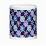 Snowflakes Pattern Morph Mugs Center