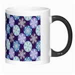 Snowflakes Pattern Morph Mugs Right