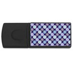 Snowflakes Pattern USB Flash Drive Rectangular (4 GB)