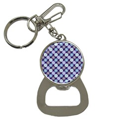 Snowflakes Pattern Bottle Opener Key Chains