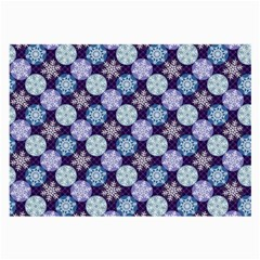 Snowflakes Pattern Large Glasses Cloth (2 Side)