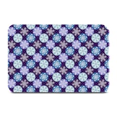 Snowflakes Pattern Plate Mats by DanaeStudio