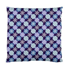 Snowflakes Pattern Standard Cushion Case (two Sides) by DanaeStudio