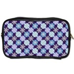 Snowflakes Pattern Toiletries Bags Front