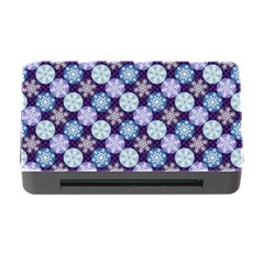 Snowflakes Pattern Memory Card Reader With Cf by DanaeStudio