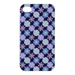 Snowflakes Pattern Apple iPhone 4/4S Hardshell Case