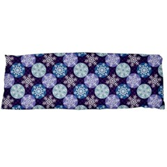 Snowflakes Pattern Body Pillow Case (dakimakura)