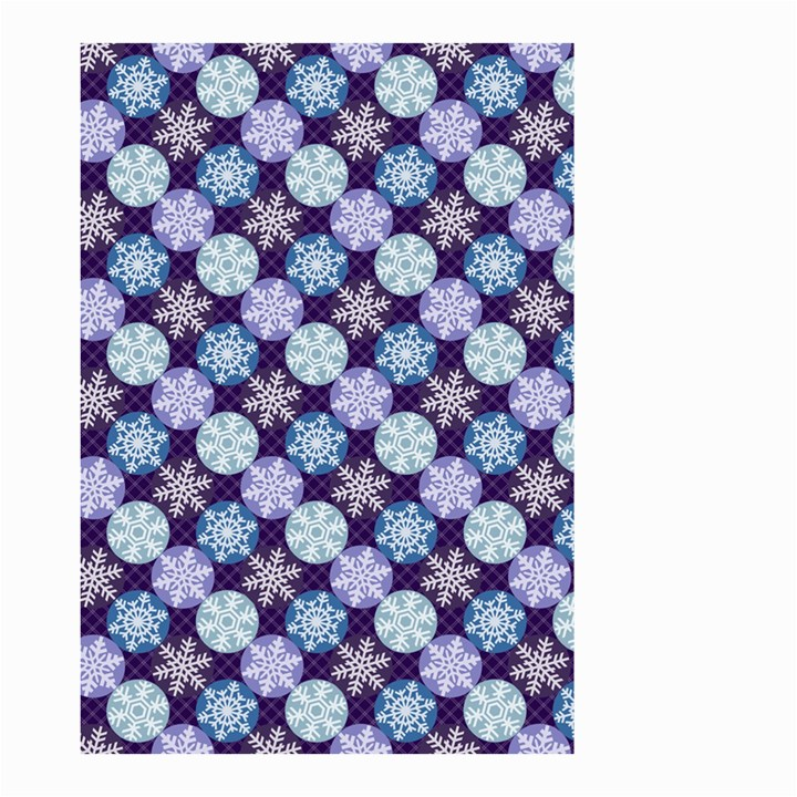 Snowflakes Pattern Small Garden Flag (Two Sides)